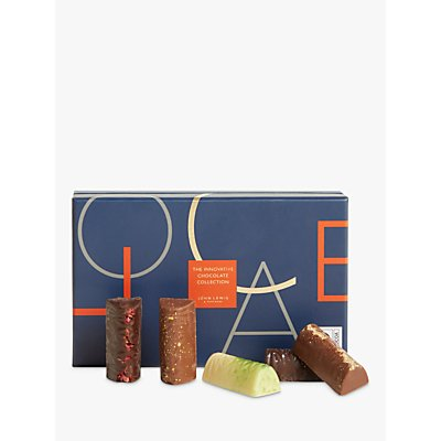 John Lewis & Partners Innovative Collection 14pcs Chocolate Baton Selection Box, 154g