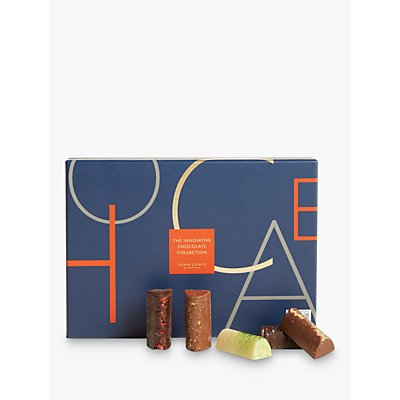 John Lewis & Partners Innovative Collection 27pcs Chocolate Baton Selection Box, 295g