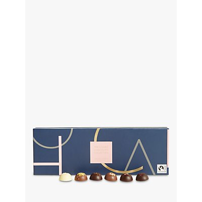 John Lewis & Partners Classic Collection 28pcs Chocolate Domes Selection Box, 210g