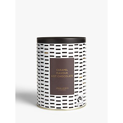 John Lewis & Partners Caramel Milk Hot Chocolate Flakes, 200g