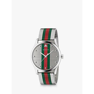 Gucci YA126284 Men s G Timeless Bracelet Strap Watch  Multi - 0731903468252