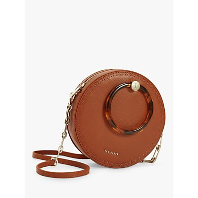 Ted Baker Acantha Leather Circle Cross Body Bag