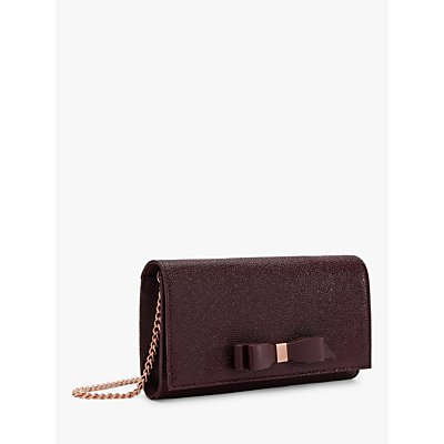 Ted Baker Alaine Leather Matinee Clutch Bag