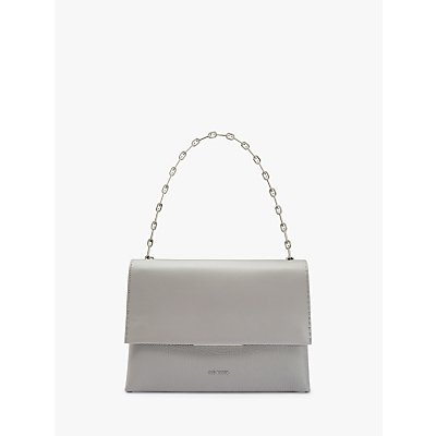 Bar Detail Leather Shoulder Bag - 5057930903685