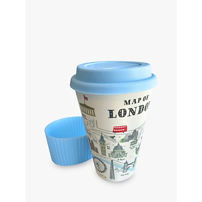Alice Tait Bamboo Travel Mug  400ml - 5027130441126