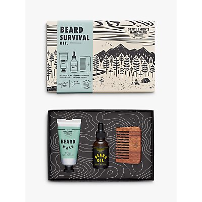 Gentlemen's Hardware Beard Buddy Kit Gift Set