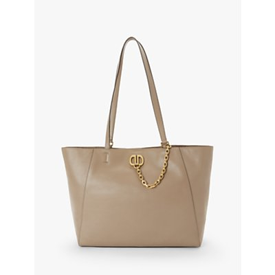 DKNY Linton Large Leather Tote Bag, Dune