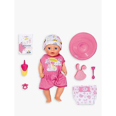 Zapf Baby Little Girl Doll