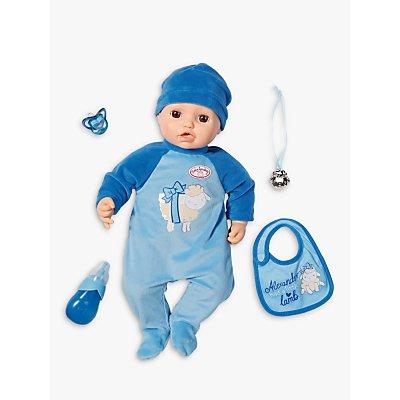 Zapf Baby Alexander Doll