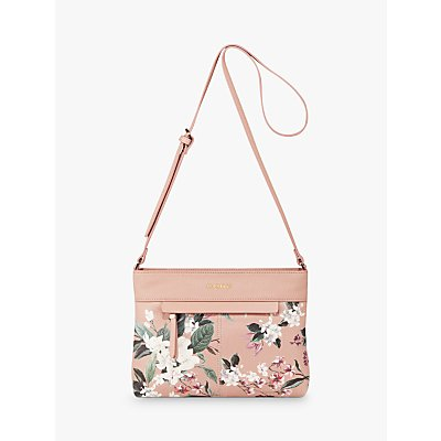 Fiorelli Chelsea Floral Cross Body Bag, Kew Pink