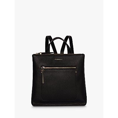 Fiorelli Finley Small Zip Top Backpack  Black - 5050545679075