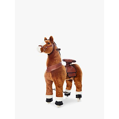 PonyRider Plush Ride-On Pony