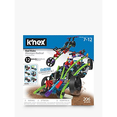 K'Nex 15214 Rad Rides 12 In 1 Building Set