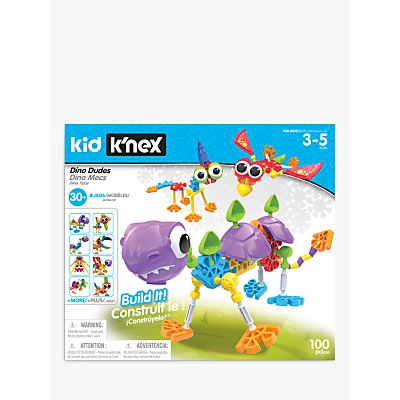 Kid K'NEX 85611 Dino Dudes Building Set
