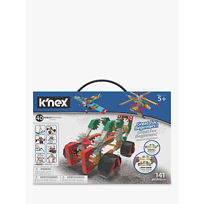 K'NEX 15210 Beginner 40 Model Building Set
