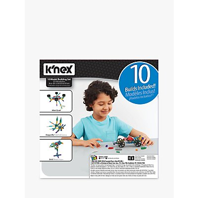 K'Nex 15216 10 In 1 Building Set