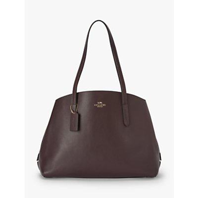 Coach Charlie 40 Leather Carryall Tote Bag