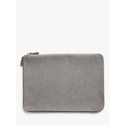 John Lewis   Partners Recycled Leather Laptop Case - 5059139055448