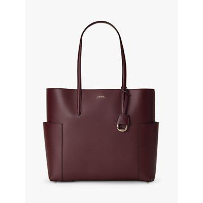 Lauren Ralph Lauren Dryden Carlyle 36 Leather Tote Bag