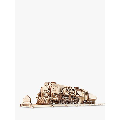 UGears V-Express Steam Train 3D Puzzle Kit