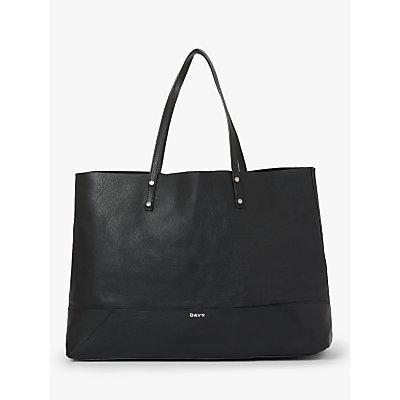 DAY et Shine Leather Shopper Bag, Black
