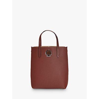 kate spade new york Suzy Medium Leather Tote Bag, Cinnamon Spice