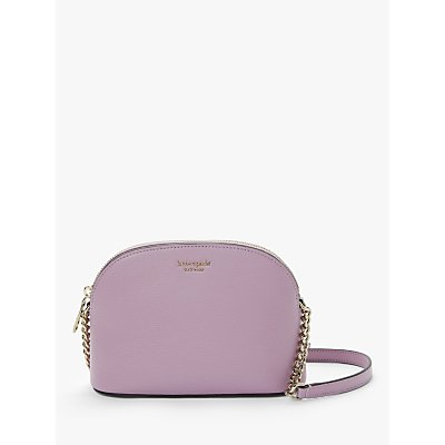 kate spade new york Sylvia Small Dome Cross Body Bag, Orchid