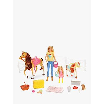Barbie Hugs 'N' Horses Doll Set