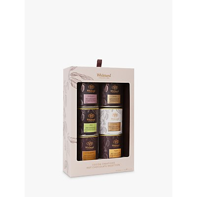 Whittard Cocoa Creations Hot Chocolate Selection, 6x 120g