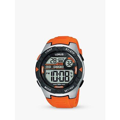 Lorus Children s Digital Plastic Strap Watch - 4894138344718