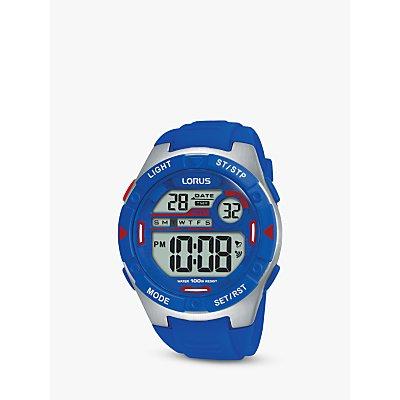 Lorus Children s Digital Plastic Strap Watch - 4894138344701