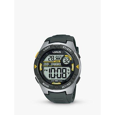 Lorus Children s Digital Plastic Strap Watch - 4894138344695