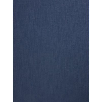 John Lewis & Partners Relaxed Linen Plain Fabric, Dark Nordic Blue, Price Band B