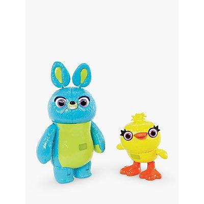 Disney Pixar Toy Story Interactive Duck & Bunny True Talker Action Figures