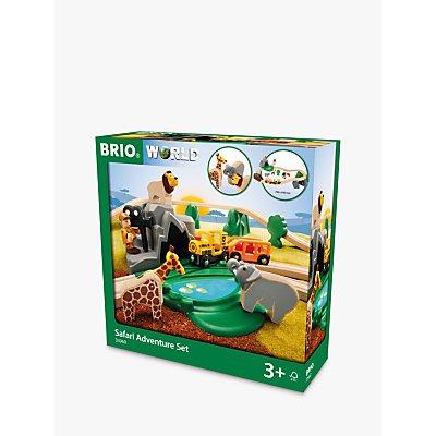 Brio Wooden Safari Adventure Set