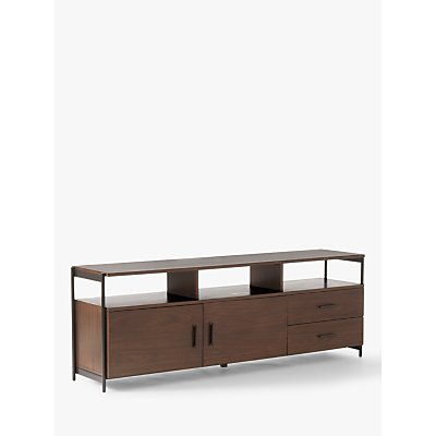 west elm Foundry TV Stand for TVs up to 50, Dark Walnut