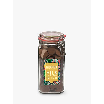 Cocoba Milk Chocolate Buttons Jar, 900g