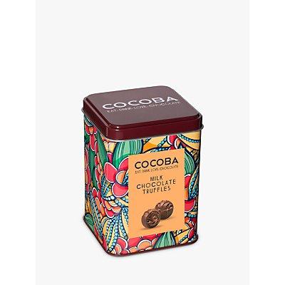 Cocoba Milk Chocolate Truffles Tin, 120g