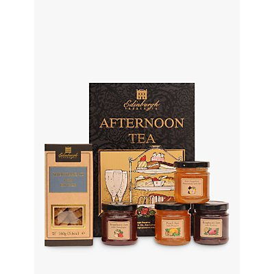 Edinburgh Preserves Afternoon Tea Jam Fizz & Shortbread Gift Set, 612g