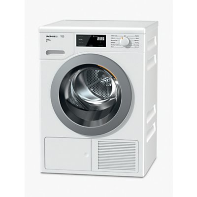 Miele TCH620WP Heat Pump Tumble Dryer, 9kg Load, A+++ Energy Rating, White