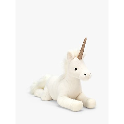 Jellycat Luna Unicorn Soft Toy, Large