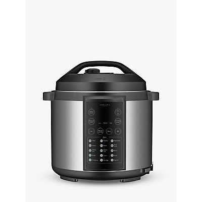 John Lewis & Partners JLPC166 Stainless Steel Pressure Cooker, 5.7L