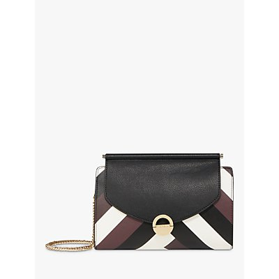 Fiorelli Kate Clutch Bag, Chevron