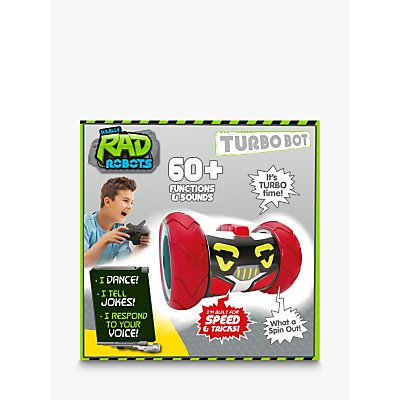 Really R.A.D Robots Remote Control Turbo Bot Robot