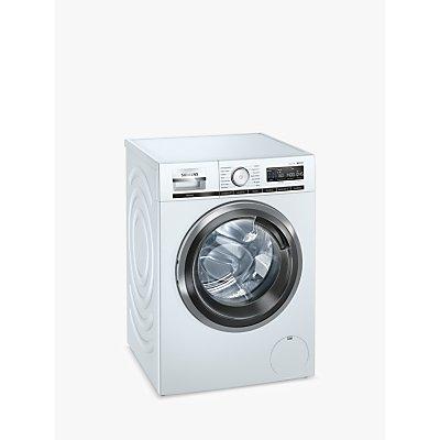 Siemens iQ500 WM14VMH9GB Freestanding Washing Machine, 9kg Load, 1400rpm, White