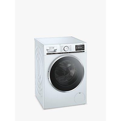 Siemens iQ700 WM16XGH1GB Freestanding Washing Machine, 10kg Load, 1600rpm, White