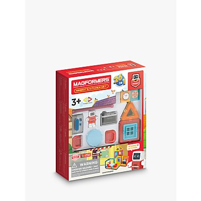 Magformers Mini World Minibot's Kitchen Set