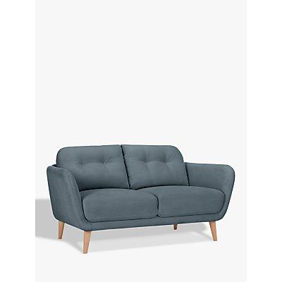 House by John Lewis Arlo Small 2 Seater Sofa, Light Leg