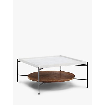 John Lewis & Partners + Swoon Rubin Coffee Table, White