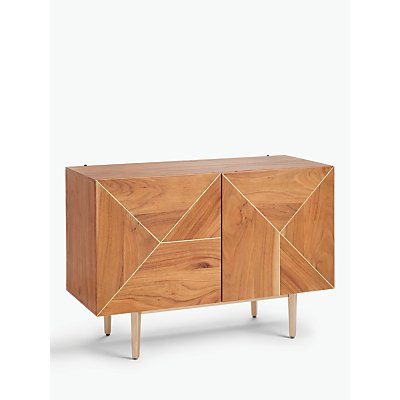John Lewis & Partners + Swoon Mendel Small TV Stand Sideboard for TVs up to 42